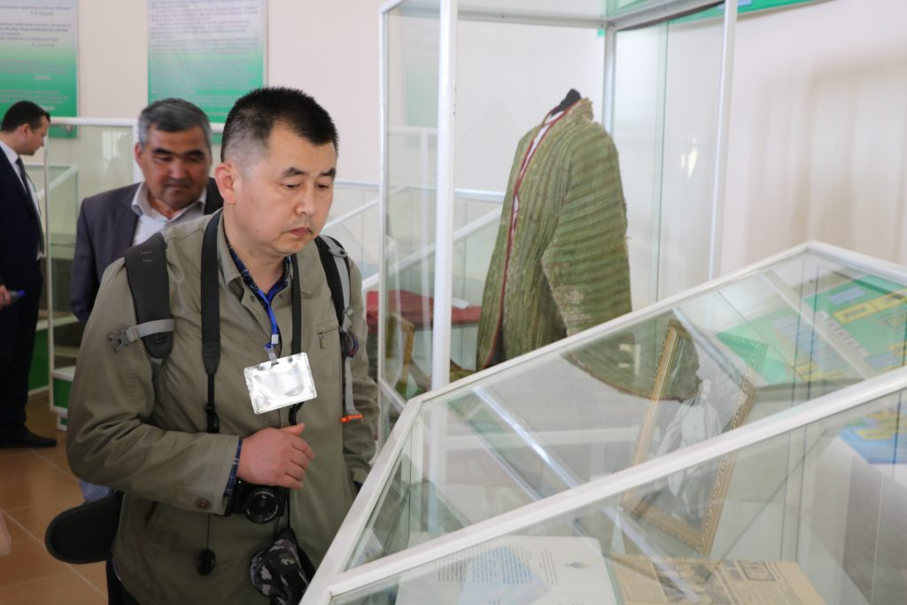 The guests have visited the Berdakh National Museum