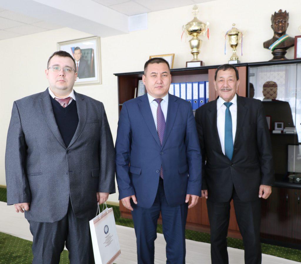 Associate Professor of Saint Petersburg State Pediatrics Medicine University has visited Karakalpak State University named after Berdakh