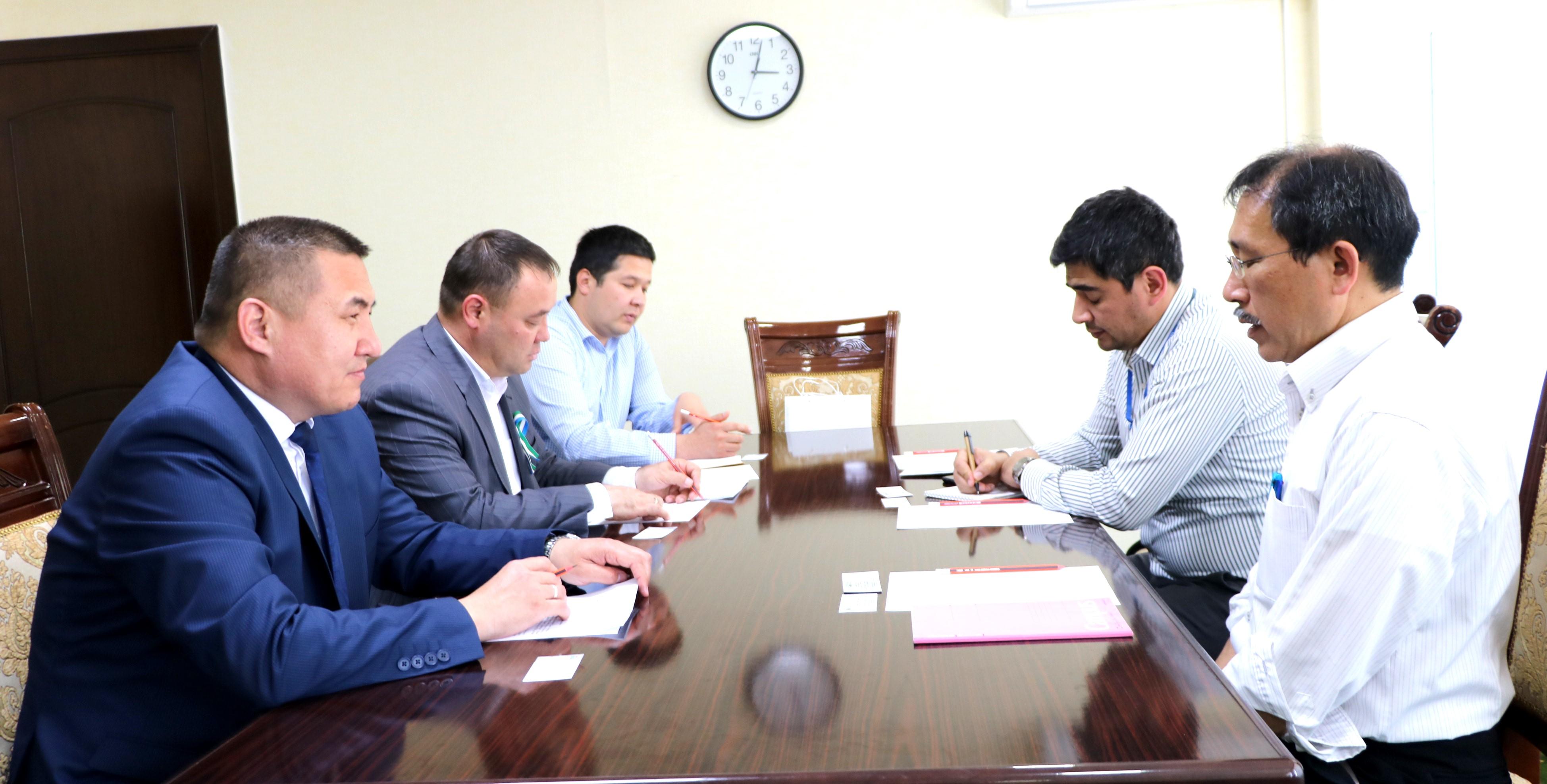 Представители Японского агентства международного сотрудничества в КГУ